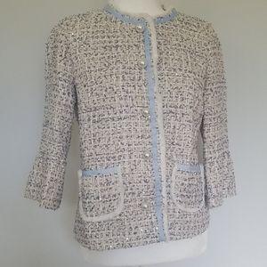 Chanel Style Tweed Jacket